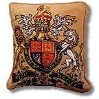 The Purple Tree Royal Coat of Arms Tapestry Kit