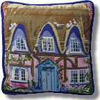The Purple Tree Cottage Tapestry Kits