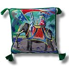 The Purple Tree Indian Elephant Tapestry Kit