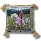 The Purple Tree Medieval Knight and Lady Tapestry Kits